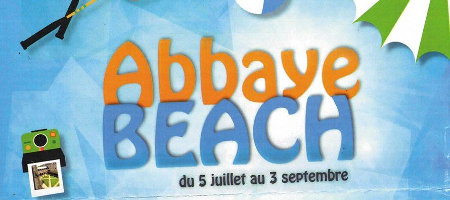 Cet été, place à l'Abbaye Beach
