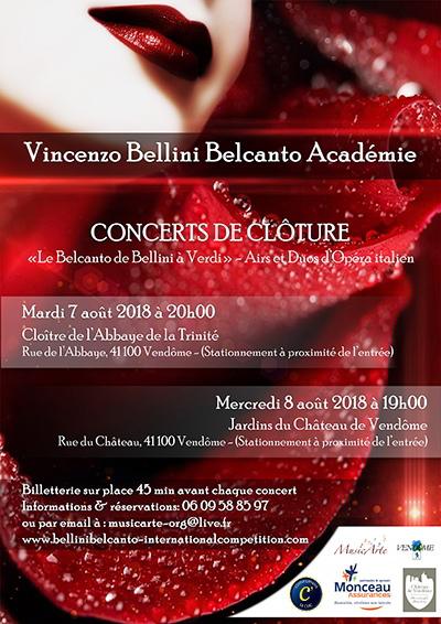 Vincenzo Bellini Belcanto Académie ; Vincenzo Bellini