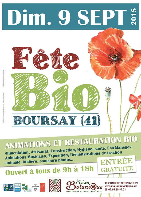 Maison botanique ; bio ; Boursay