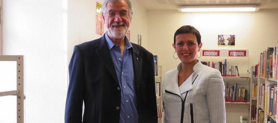 Aline Aubert, nouvelle directrice de la culture de la CCVLB