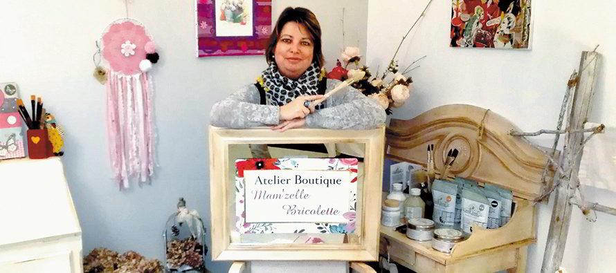 « Mam'zelle Bricolette » bricole pour vous