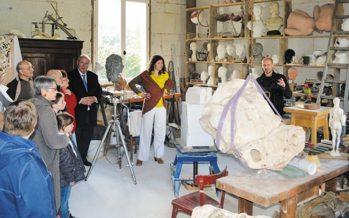 Belle initiative et franc succès pour l'opération «Ateliers ouverts»…