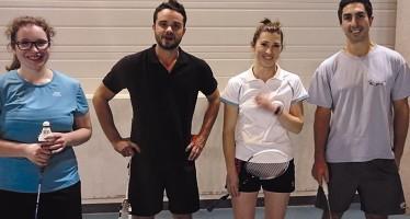 Badminton : Bon début de saison pour le CFVV