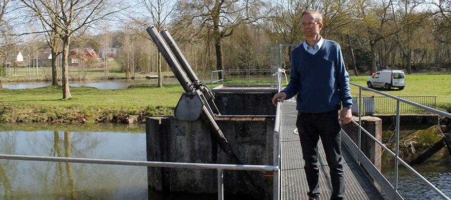 Les aléas du niveau du Loir à Vendôme