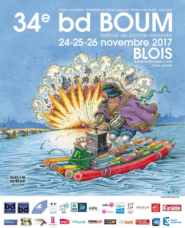 festival de bande dessinée ; BD BOUM