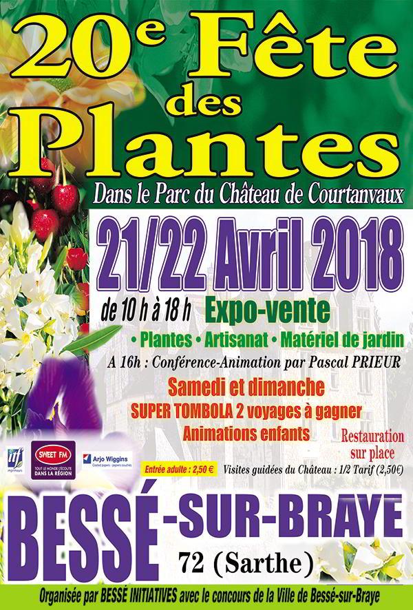 Courtanvaux côté jardin ; Fête des plantes ; Bessé-sur-Braye ; Bessé Initiatives