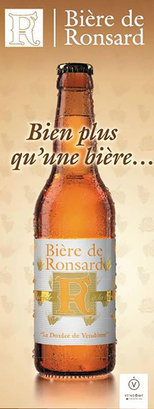 Bière de Ronsard ; ville de Vendôme