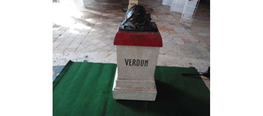 Une borne de la Voie Sacrée de Verdun bientôt à Vendôme