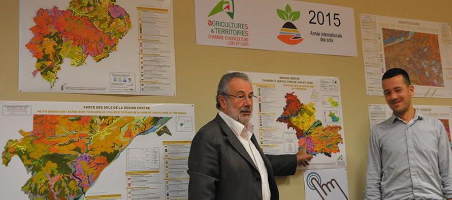 Le département a sa carte agricole précise au 1/250.000ème
