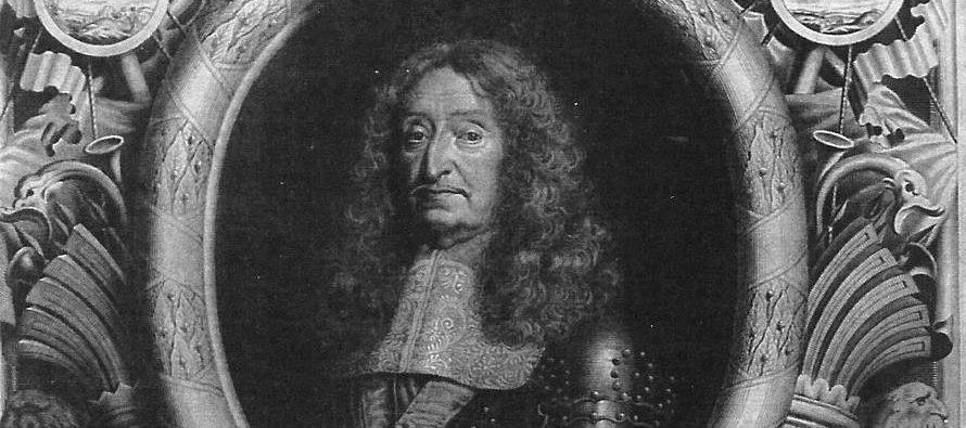 Les impressionnantes obsèques de César , duc de Vendôme
