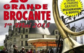 20e Grande Brocante de Chambord vendredi 1er mai