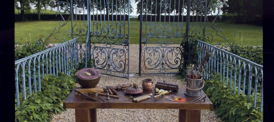 Premier salon des artisans d'art au château de Fretay
