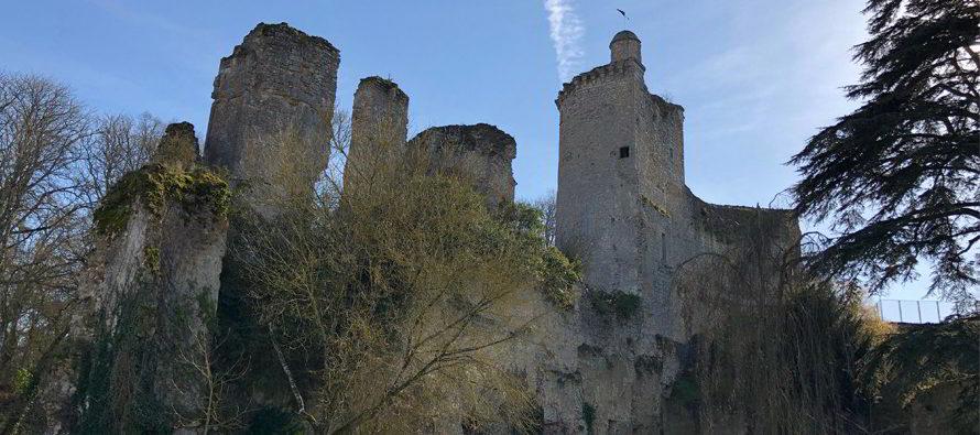Le château de Vendôme, lieu de légendes