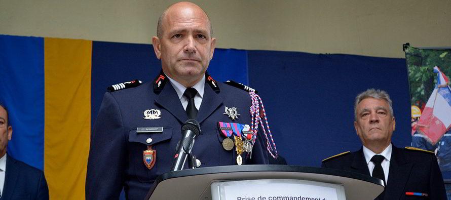 Nouveau commandant du SDIS 41