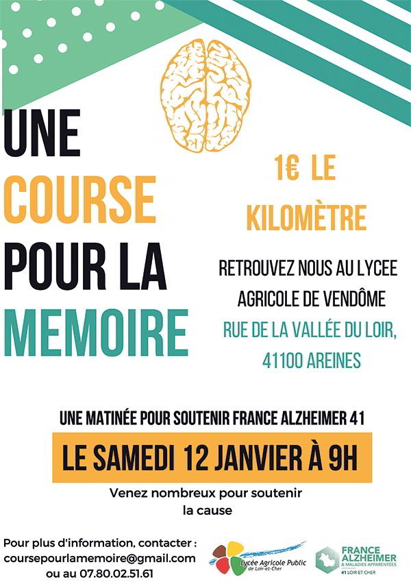 lycée agricole d'Areines ; France Alzheimer