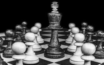 Une belle page de jeu de dames à Vendôme
