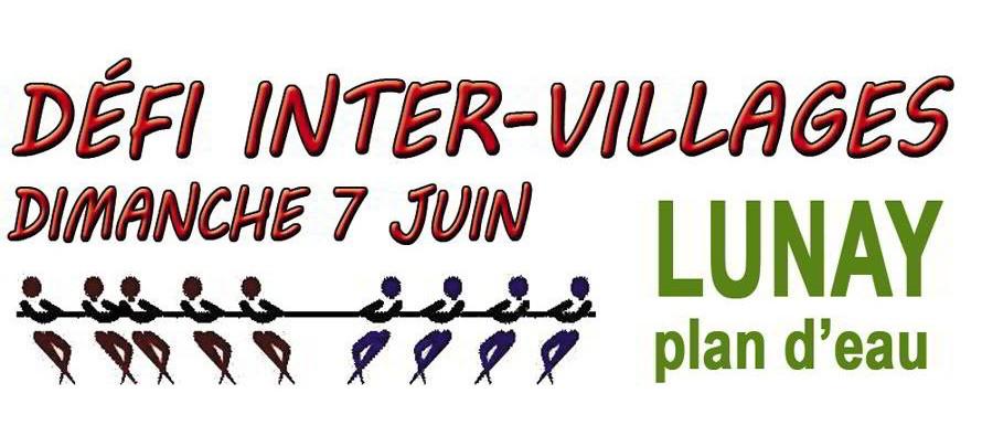 Défi inter-Villages – dimanche 7 juin à Lunay