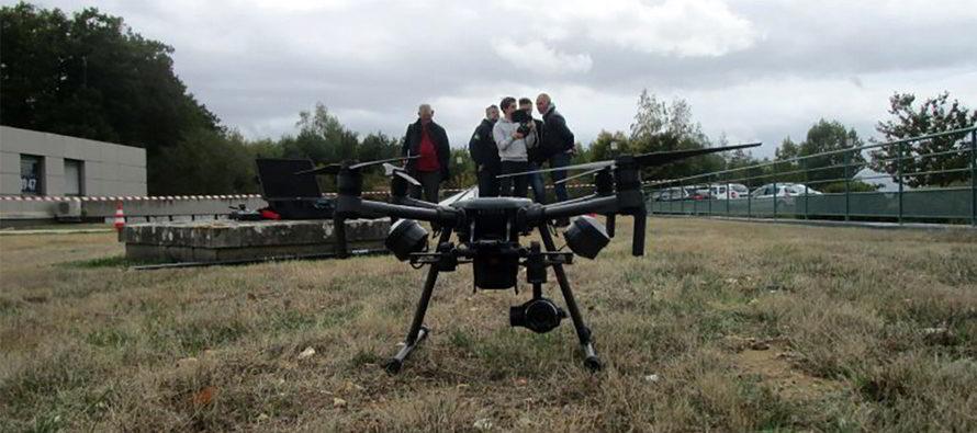 Un équipement de pointe : le drone !