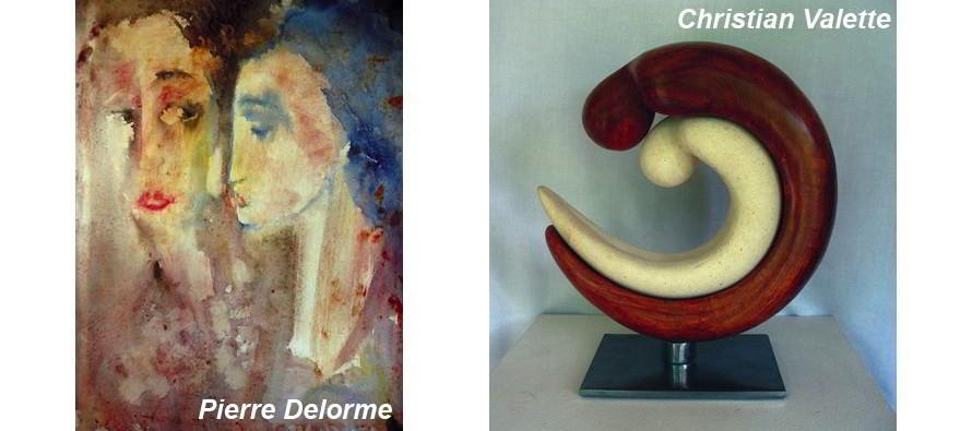 Pierre Delorme et Christian Valette, une démarche commune…