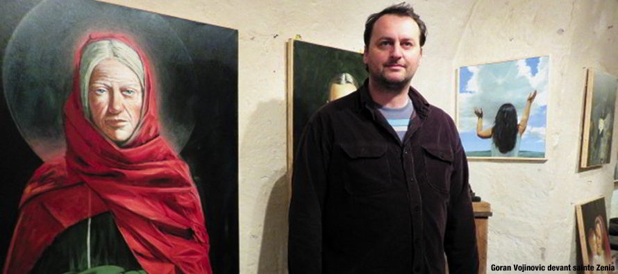 Goran Vojinovic expose à Lavardin