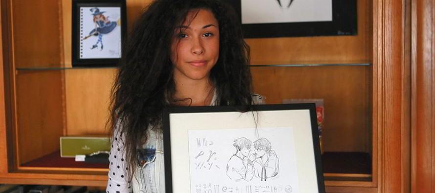 Exposition de mangas chez Laurent Potier