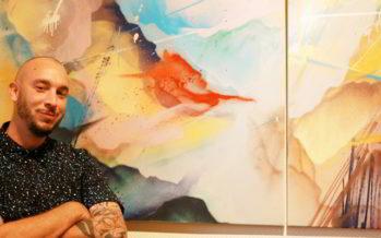 Les couleurs de Plume chez Laurent Potier