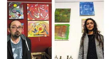 Ludovic et Camille chez Frip'Art