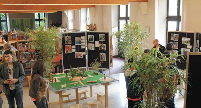 Jardin zen en exposition
