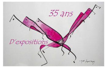Elisabeth Fourgeaud Bourgeois présente 35 ans d'expositions