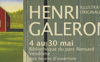 Exposition et dédicaces avec Henri Galeron
