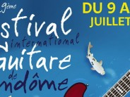 19ème Festival International de guitare de Vendôme du 9 au 16 juillet 2016