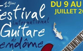 19ème Festival International de guitare de Vendôme