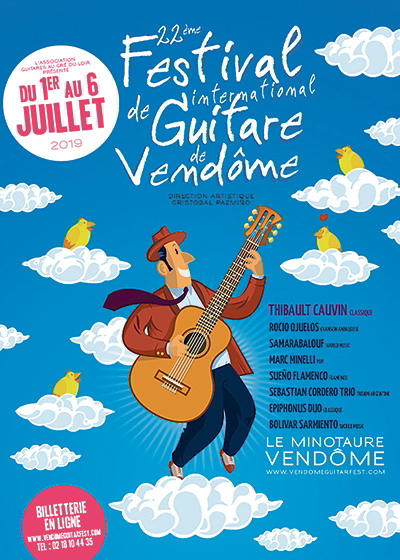 Vendôme ; festival international de guitare ; festival ; guitare