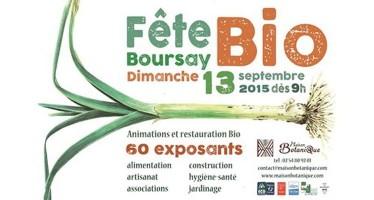 Dimanche 13 Septembre : Fête Bio de Boursay – de 9h à 18h