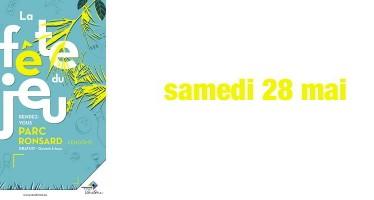 Fête du jeu à Vendôme samedi 28 mai, parc Ronsard