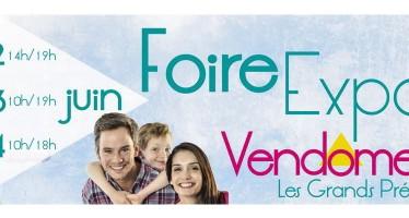 Foire Expo de Vendôme – les 12, 13 et 14 juin 2015