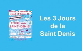 Foire de la Saint Denis: c'est ce week end!