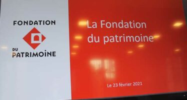 Partenariat avec la Fondation du Patrimoine