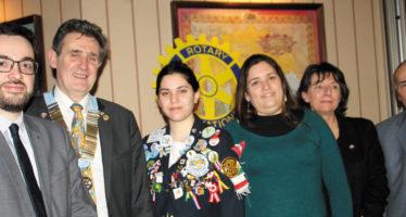 Les actions du Rotary-club de Vendôme saluées par le Gouverneur.