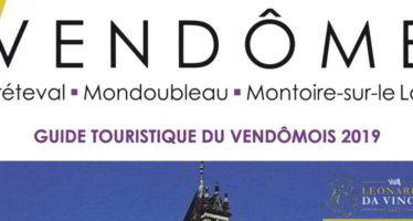 Le nouveau Guide touristique du Vendômois est arrivé !