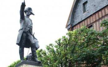 Cérémonie en hommage au Maréchal de Rochambeau le 5 juillet 2015