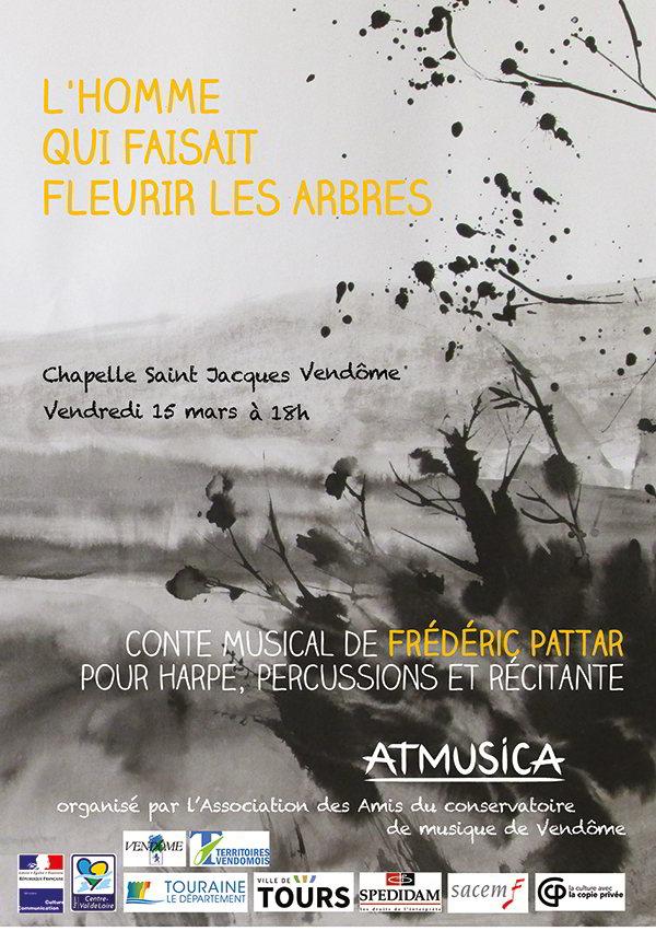 Ensemble Atmusica de Tours ; Frédéric Pattar