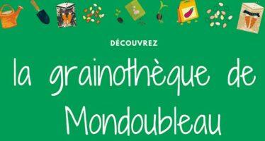 Inauguration d'une grainothèque  à Mondoubleau et troc de graines