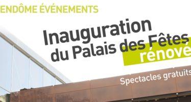 Inauguration du Palais des Fêtes à Vendôme, vendredi 20 octobre