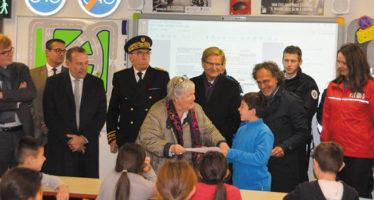 Jacqueline Gourault, la ministre sur la piste éducative de La Prévention routière