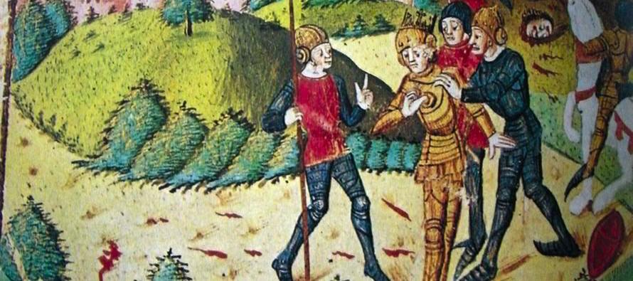 Poitiers, 1356, le comte de Vendôme est aussi fait prisonnier