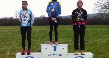 Jeanne Baran, championne régionale de Duathlon