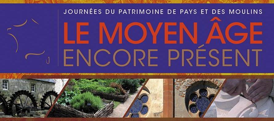 18e édition des Journées du Patrimoine de Pays et des Moulins les 20 et 21 juin 2015