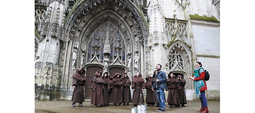 Les visites «très animées» de la Trinité