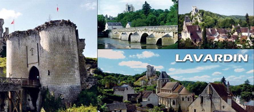 Lavardin et Montoire-sur-le-Loir, sous un autre angle